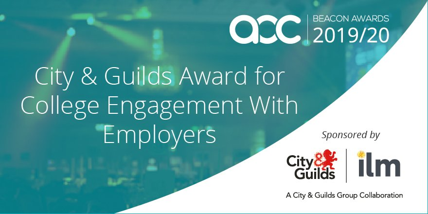 Apply today for the our Award for College Engagement with Employers - celebrating exemplary practice in the delivery of provision: responsive to the needs of employers. #AoCBeacons #LoveOurColleges aoc.co.uk/city-guilds-aw…