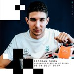 We've got @OconEsteban with us on Friday and Saturday for his first experience of @fosgoodwood, taking W08 up the hill! We can't wait! 👏 #FOS