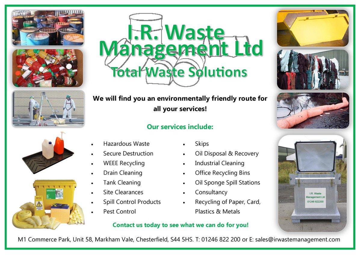 I R Waste Management Ltd (@IRWASTE) | Twitter