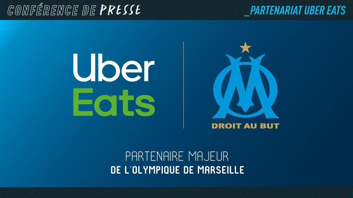 Uber Eats nouveau sponsor maillot de l'OM