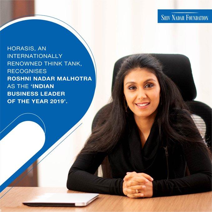 HCL Roshni Indian Business Leader