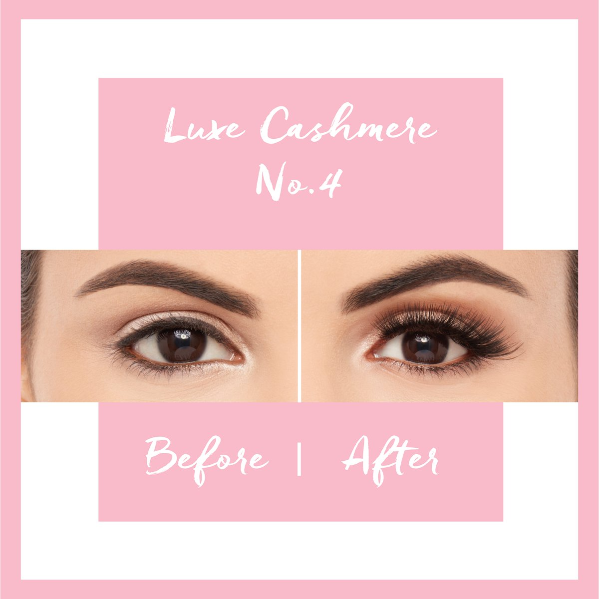 8d8dd5b6a64 The power of lashes! We've chosen a few of our favourite styles to show you  how lashes can transform your makeup look!