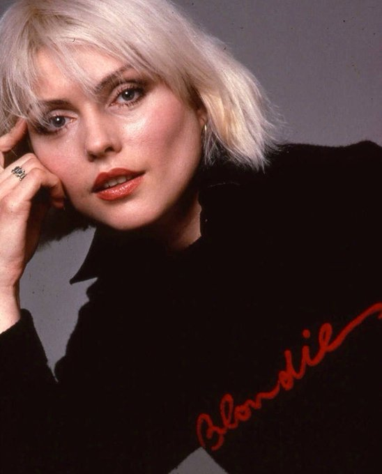 Happy birthday debbie harry, i love you more than words can tell