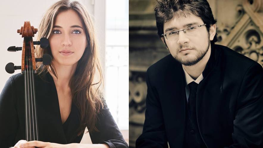 Tonight (7/1), #cellist Camille Thomas makes her recital #debut at Interlochen with pianist Roman Rabinovich performing works by #mendelssohn, #shostakovich, #messiaen, and  #franck. More info: http://tickets.interlochen.org. @CamilleThomasOF @rabiman29 @InterlochenArts #camillethomas pic.twitter.com/Sgas96tGCd