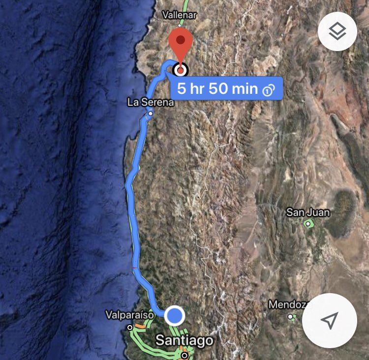 We have 5+ hours before we reach La Silla! Please share with the #MeetESO team something that we SHOULD know. Extra points for most creative responses.