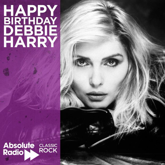 Happy 1st July and happy birthday Debbie Harry! The singer turns 74 today!