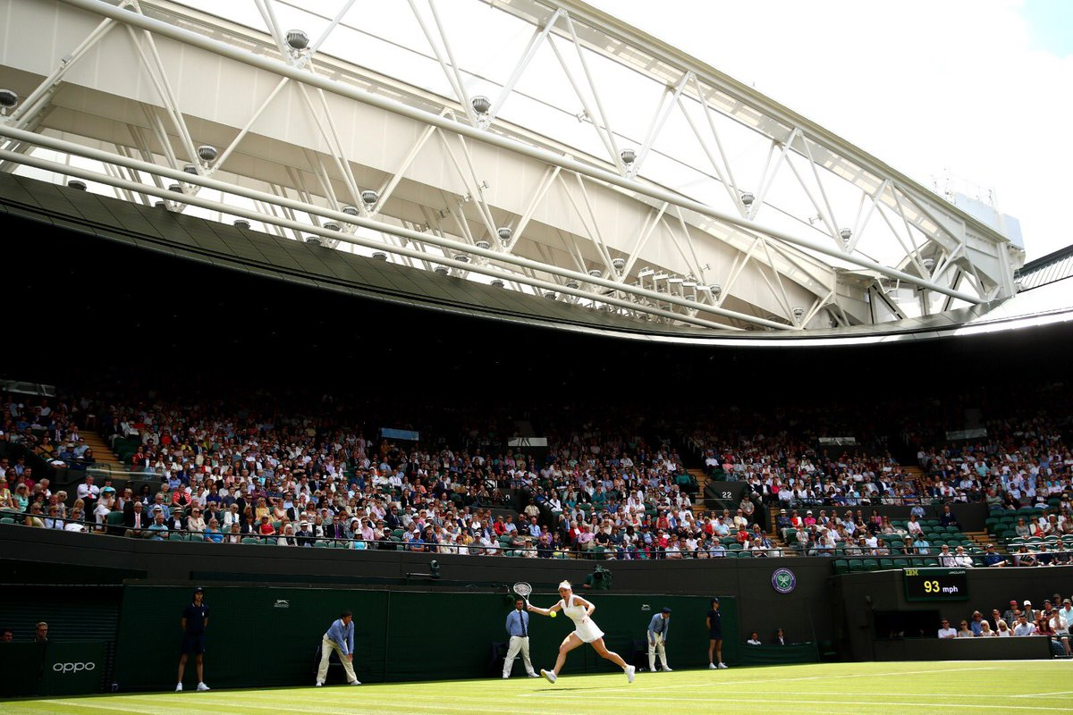What an honour to open play on the beautiful new Court One   Happy to get through against a very tough opponent    #Wimbledon #JoinTheStory <br>http://pic.twitter.com/22tA7aJuwH