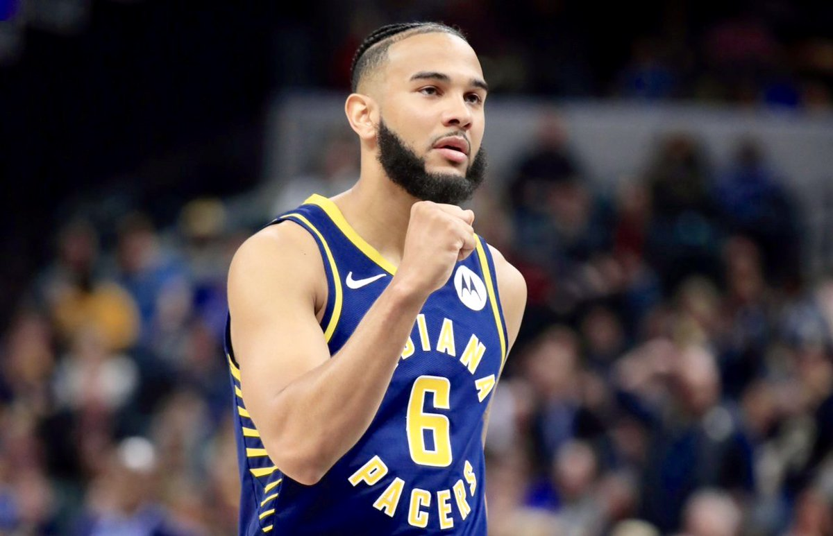 Thank you @Pacers for 2 great years playing for your organization. Shout out to all of the amazing fans in Indy, you will be missed! I look forward to seeing you again in the season ahead. Much love and respect #CJ6 https://t.co/dZZUTSfERM