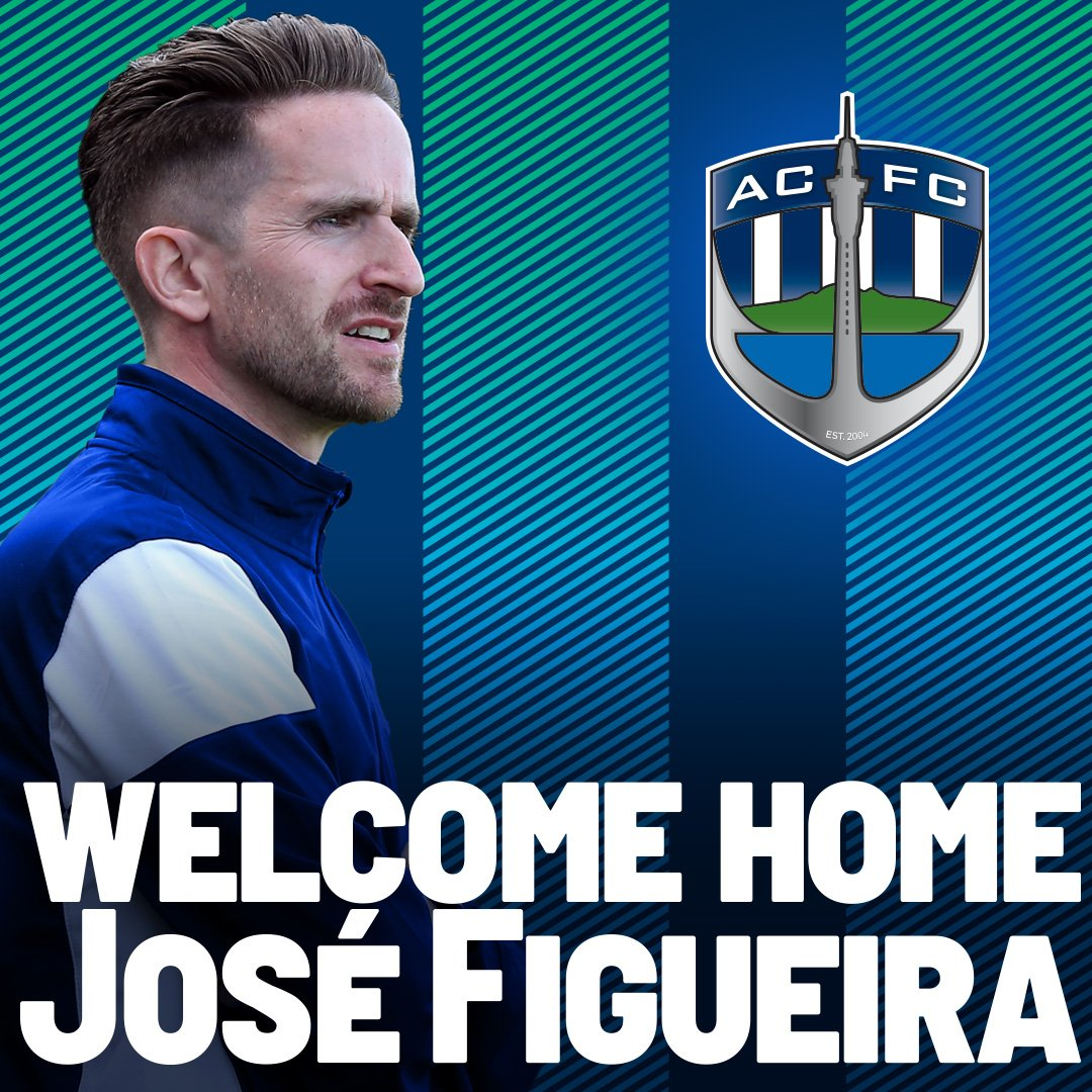 Auckland City Fc On Twitter News Jose Figueira Named