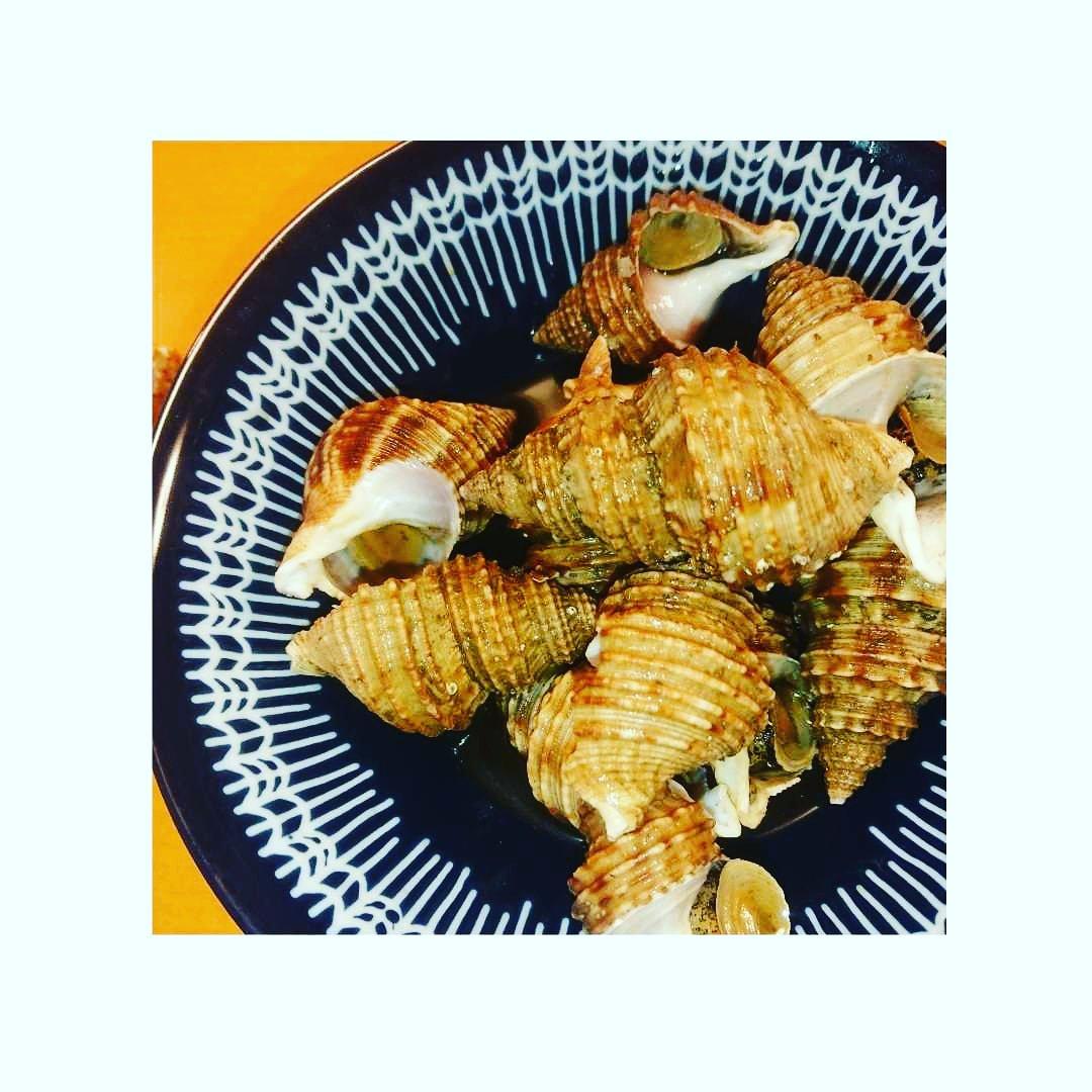 貝 煮付け つぶ