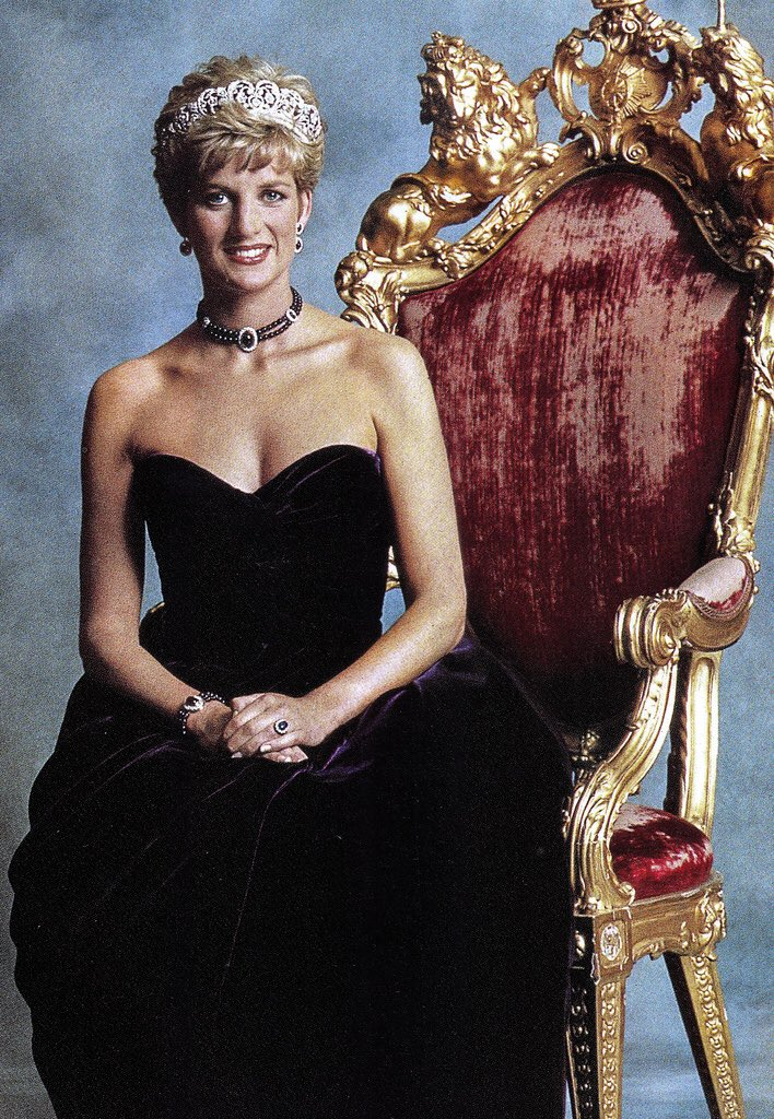 Happy birthday, Princess Diana (1961-1997). Pictured here around the 1990s