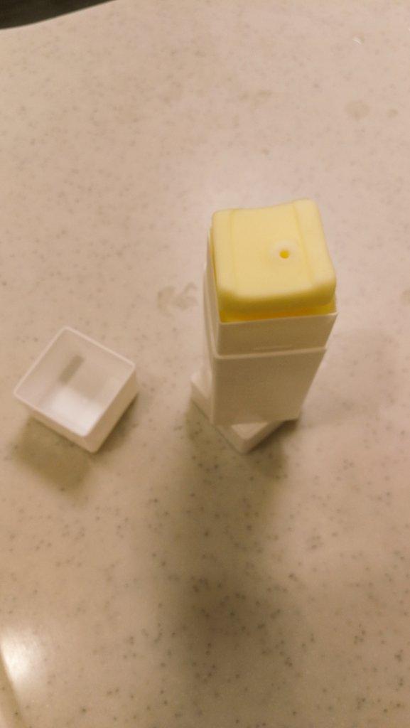 test ツイッターメディア - バタースティックをゲット! この雪印の切れてるバターがジャストサイズ! 早速、明日の朝食で試してみよう!!  #バタースティック #雪印 #切れてるバター #セリア #100円ショップ https://t.co/zvttVJmMWT