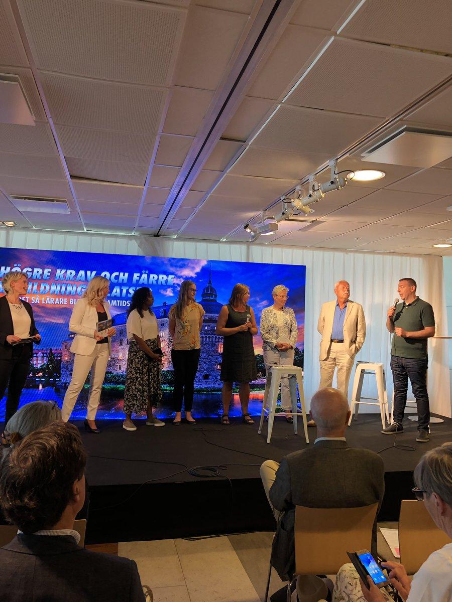 """""""Högre krav - färre utbildningsplatser"""". Är det rätt väg att få fler lärare? #almedalen2019 #orebroialmedalen"""