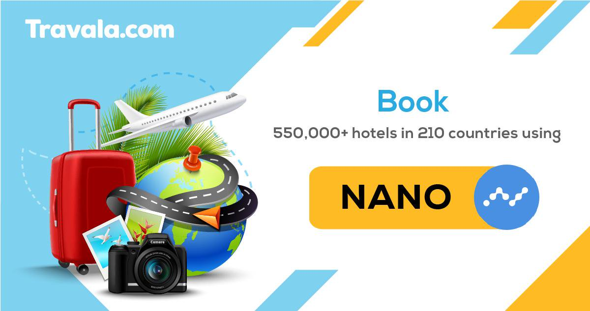 Summer is here, and with $NANO and @travalacom, you can spend your #cryptocurrency and jet away on your dream vacation today! #cryptorecycle