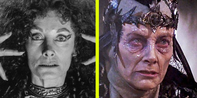 Happy Birthday to Jean Marsh! Thank you for scaring the ever living out of us in Return to Oz and Willow.