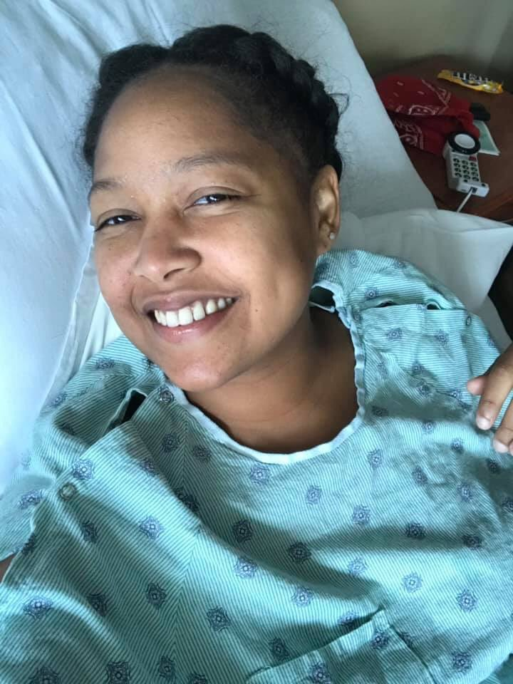 HELP🙏🏽🚨 My first cousin Tiffany is 30 years old and running on 4% KIDNEY LIFE..... and she needs another kidney ASAP. She is blood type A+ , if you can't do anything please just share🙏🏽  TWITTER I've see what you did for others, I need y'all to help me out PLEASE #KidneyForTiff