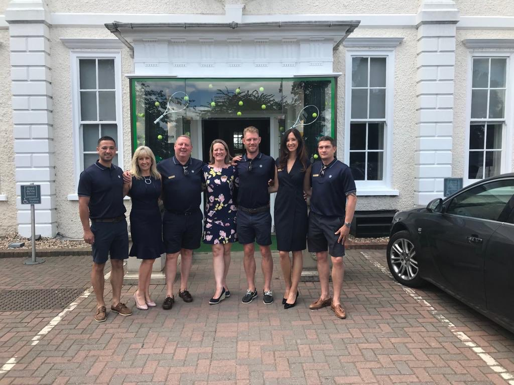 Introducing the team looking after our VIP guests at #Wimbledon2019 https://t.co/Iqk1Bt29Uz