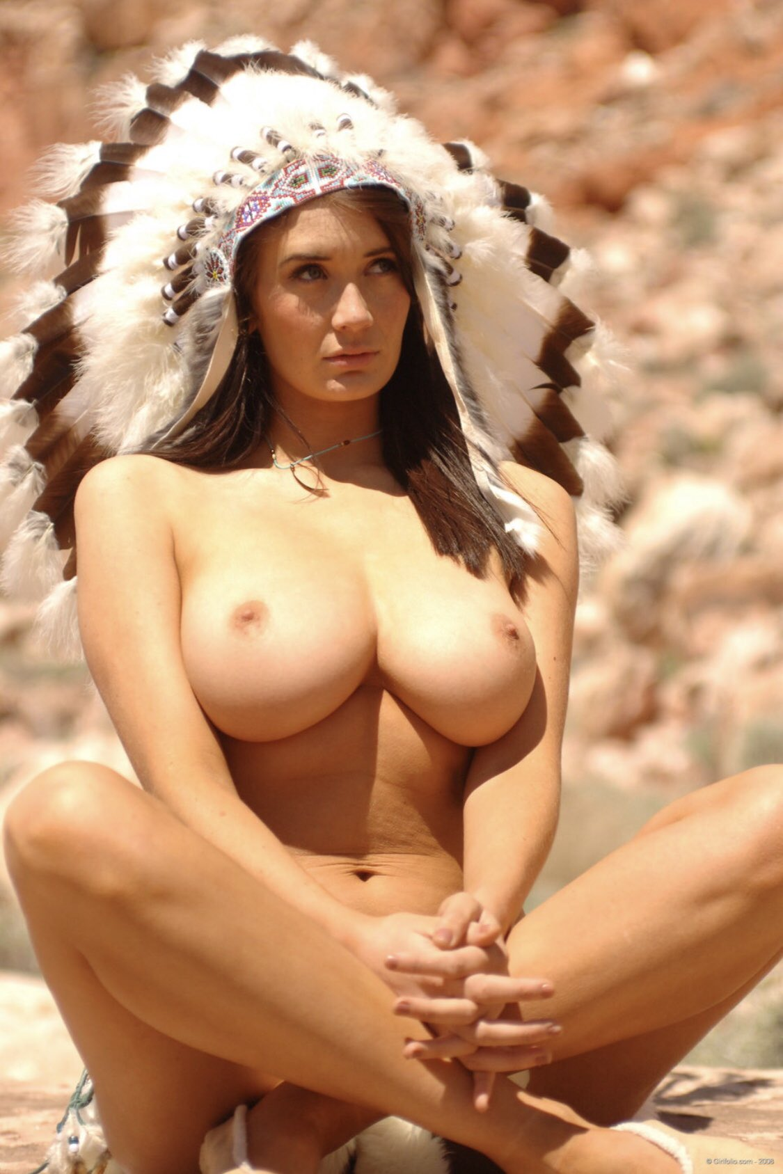 Native american girls topless 13