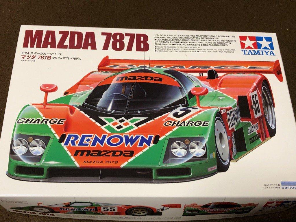タミヤ 1/24 スポーツカーシリーズ No.352 マツダ 787B プラモデル 24352に関する画像14