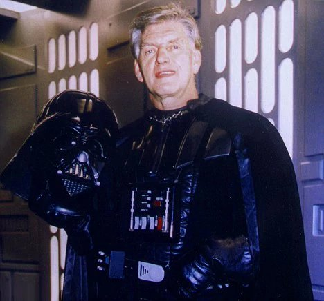 Happy birthday to the man behind the mask , David Prowse.