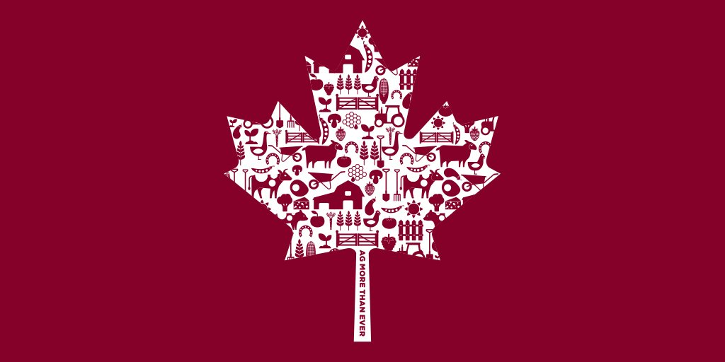 Proud to be a farmer. Proud to be Canadian.  Happy #CanadaDay https://t.co/pLVjEQK7im