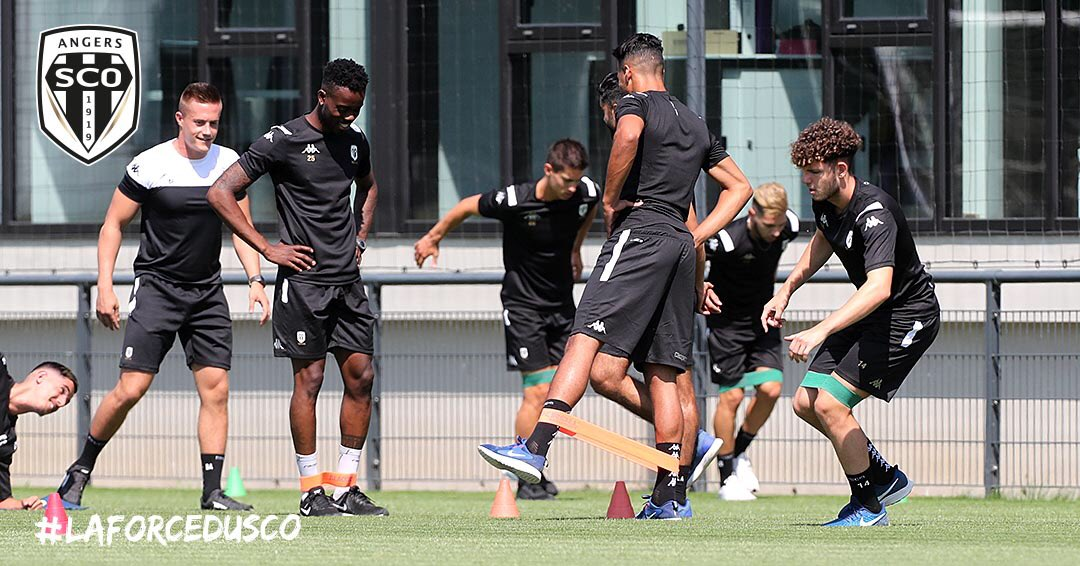 Angers SCO Ligue 1 reprise photo Ouest MEDIAS agence photo football digital