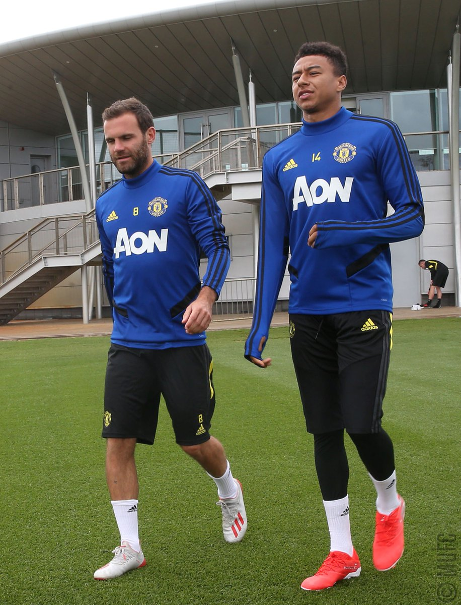 Pre-season ready 💪 #MUFC