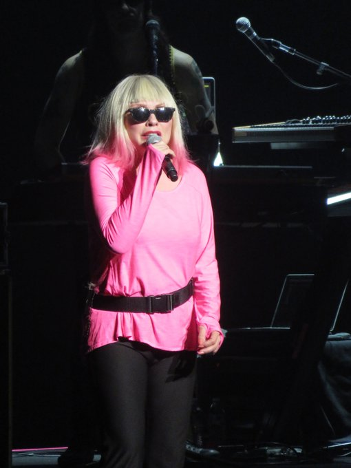 Happy Birthday to Debbie Harry of Pic taken at in 2018