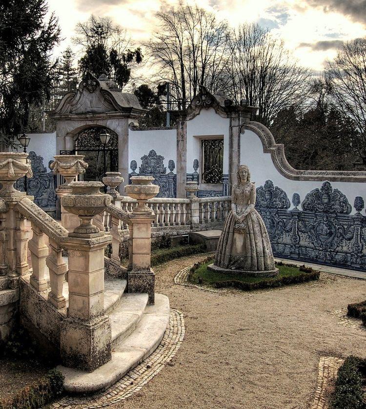 The Garden of Palàcio Fronteira, Lisbon