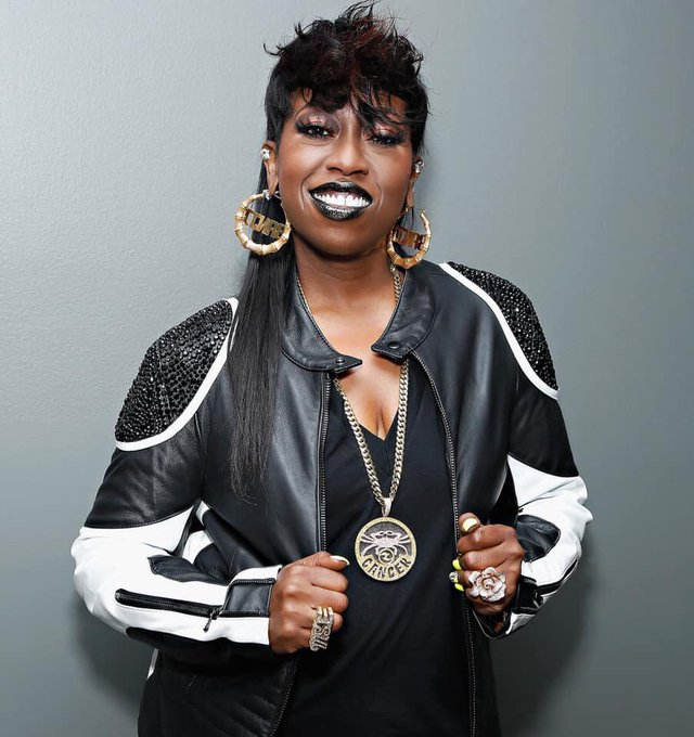 "Happy Birthday! Melissa Arnette ""Missy\"" Elliott (born July 1, 1971)"