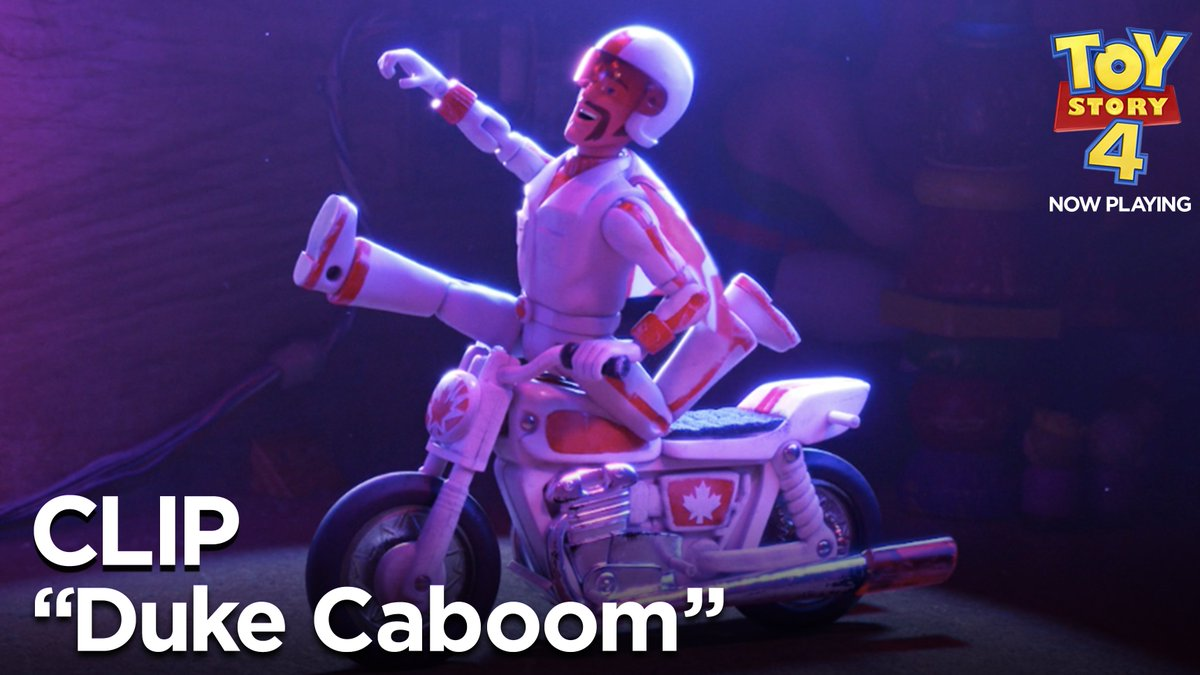 Happy #CanadaDay from the Canuck with all the luck! #DukeCaboom #ToyStory4