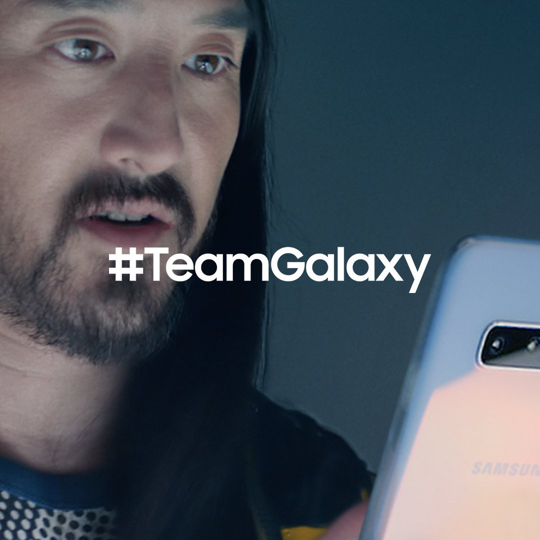 Meet #TeamGalaxy. @steveaoki knows that when you #DoWhatYouCant, anything is possible. Learn more: http://smsng.co/team-galaxy