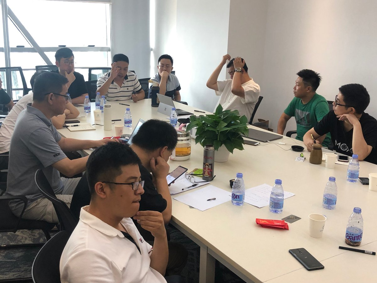 Two-day brainstorm with the core members of the MOAC @moac_io team. We conducted in-depth discussions on core operational strategies, technologies, and community building, and prepared exchanges and cooperation in #technology and #community. #Blockchain #IntelliShare #MOAC
