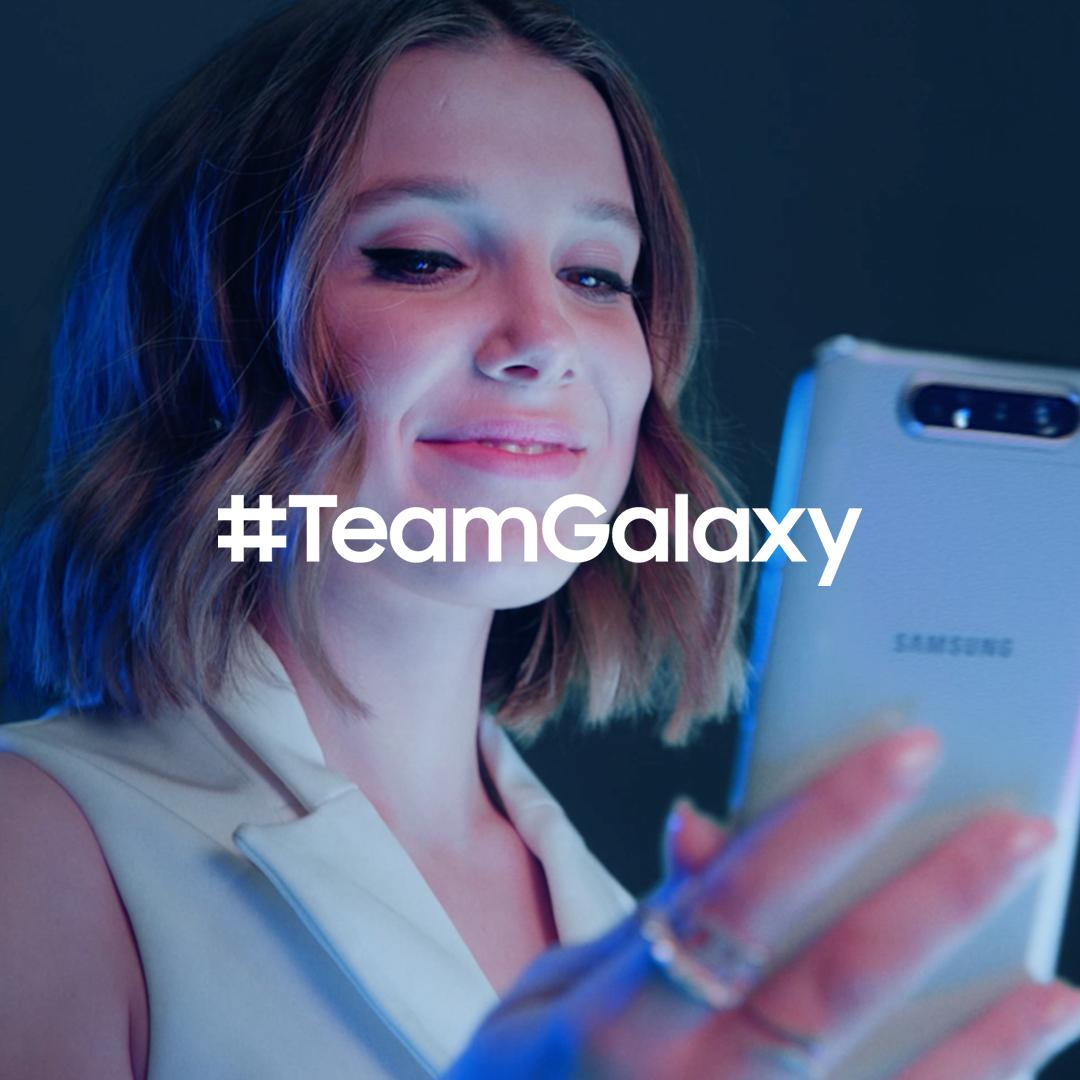 Meet #TeamGalaxy. @milliestopshate knows that when you #DoWhatYouCant, anything is possible. Learn more: http://smsng.co/team-galaxy