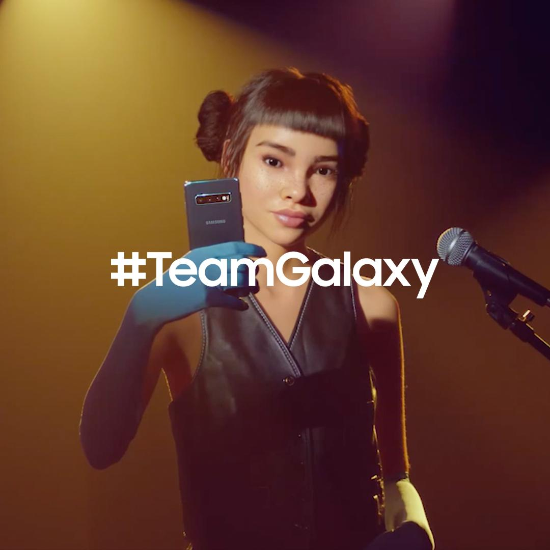 Meet #TeamGalaxy. @lilmiquela knows that when you #DoWhatYouCant, anything is possible. Learn more: http://smsng.co/team-galaxy