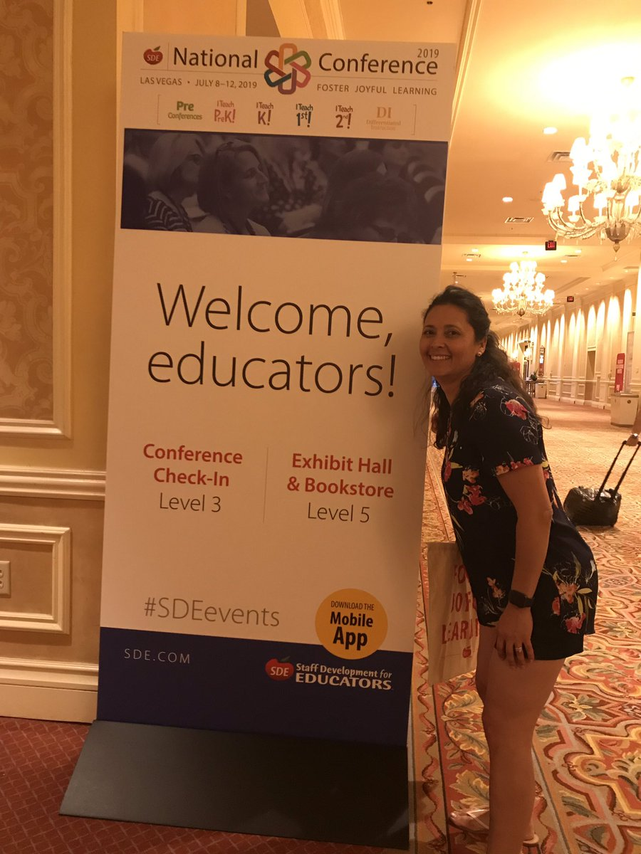 Excited for the #SDE2019 #WeAreCrane #FosterJoyfulLearning <br>http://pic.twitter.com/euuAfbvtHd
