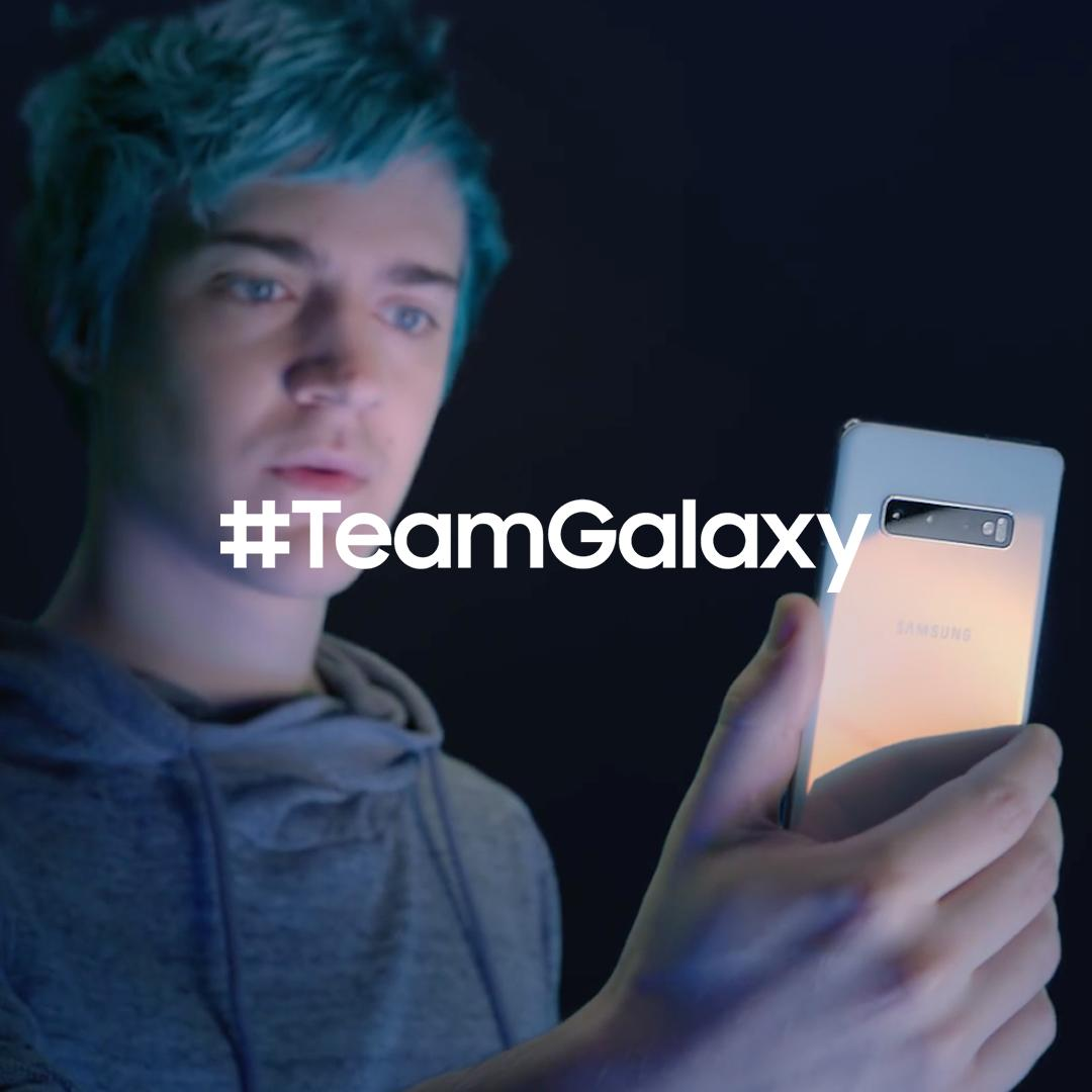 Meet #TeamGalaxy. @ninja knows that when you #DoWhatYouCant, anything is possible. Learn more: http://smsng.co/team-galaxy