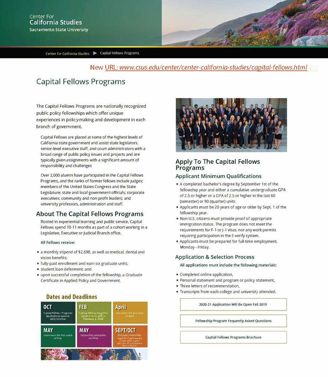 Capital Fellows (@CapFellowsCSUS) | Twitter
