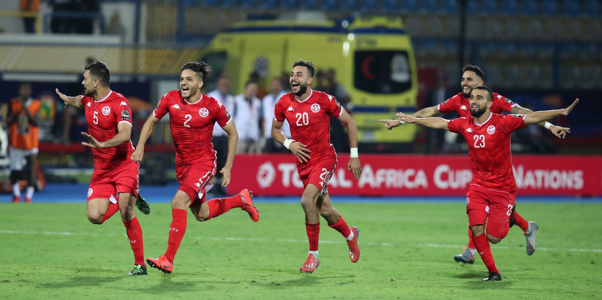 🇬🇭 Ghanas late equalizer wasnt enough to thwart Tunisia as the Eagles of Carthage reached the quarter-finals of the #TotalAFCON2019 🦅🇹🇳 #OTD