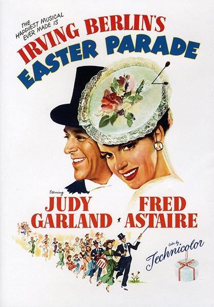 MOVIE HISTORY: 71 years ago today, July 8, 1948, the movie 'Easter Parade' opened in theaters!  #JudyGarland #FredAstaire #PeterLawford #AnnMiller #JeniLeGon #JulesMunshin #ClintonSundberg #JimmyBates @MGM_Studiospic.twitter.com/8Fkms0CbWn