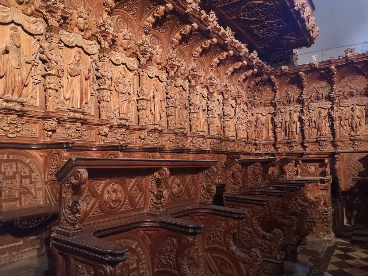 """Marlor on Twitter: """"El coro de la iglesia de San Juan es extraordinario (1719—1722). Realizado por Juan de Valencia con diseños de Jerónimo Valvás. #OrgulloBarroco @elbarroquista #Marchena… https://t.co/E59ocAiPSA"""""""