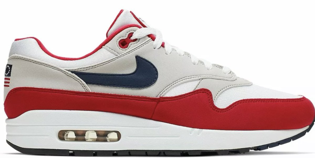"""Betsy Ross flag"""" Nike shoes"""