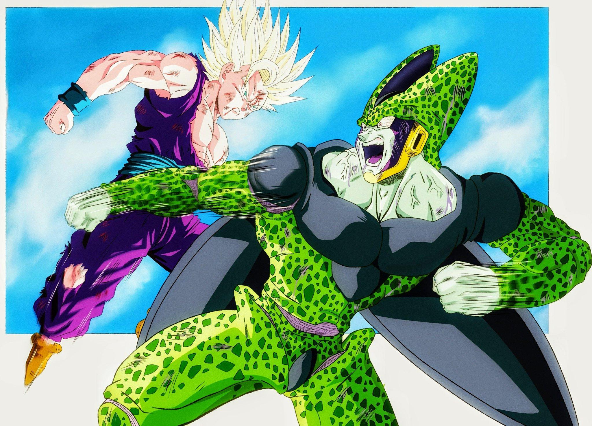 Franccast Draws Commission Open On Twitter Dibujo Terminado Gohan Vs Cell Fan Art Adaptación Genga Franciscocn1995 Lineart Y Color Nicolasrivas920 Dragonballsuper Dragonball Dragonballz Goku Artist Art Artworks Dbz Dbsuper