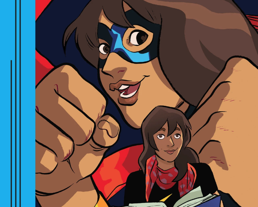 #Avengers, assemble! Accepting ones imperfections is a key theme in @NU_SoC prof. @masiasares Ms. Marvel play. The play is part of Marvel Spotlight, which creates educational, hero-themed plays for teens. nyti.ms/2XBtQwG @Marvel
