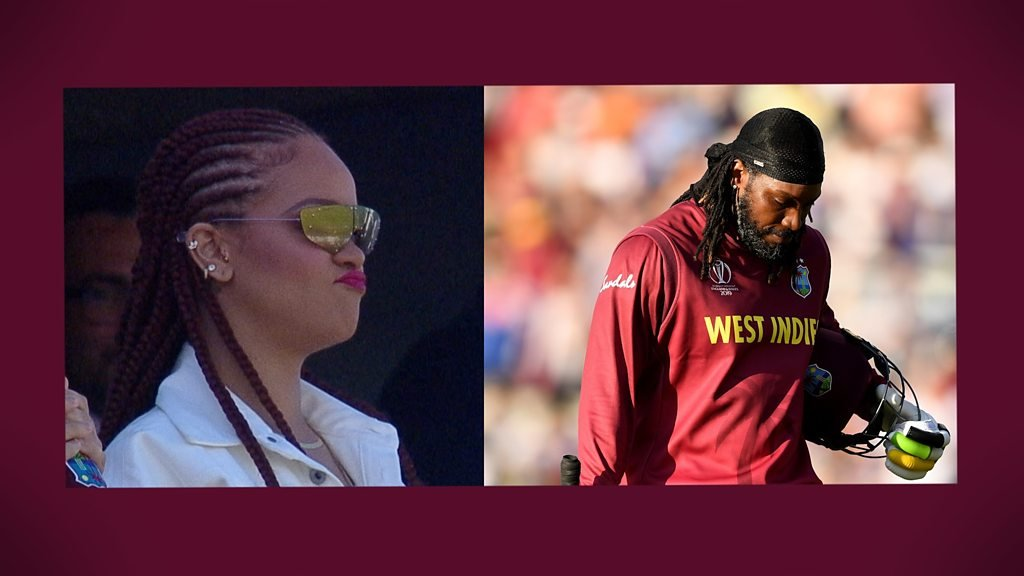 Video: Pop Star Rihanna Meets Chris Gayle In West Indies Dressing Room