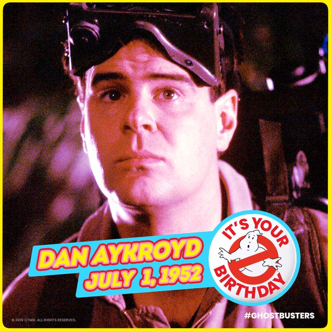Wishing a happy birthday to the original Ghostbuster,