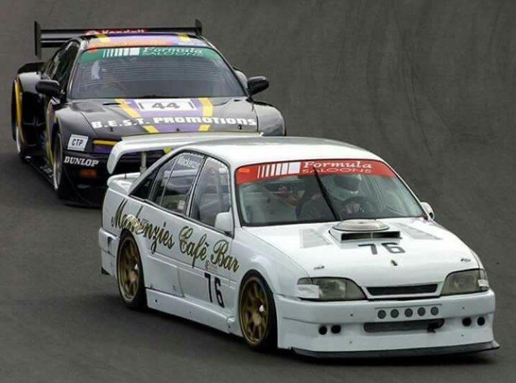 From The Archives: Andrew Mackenzie ex DTM Opel Omega V8