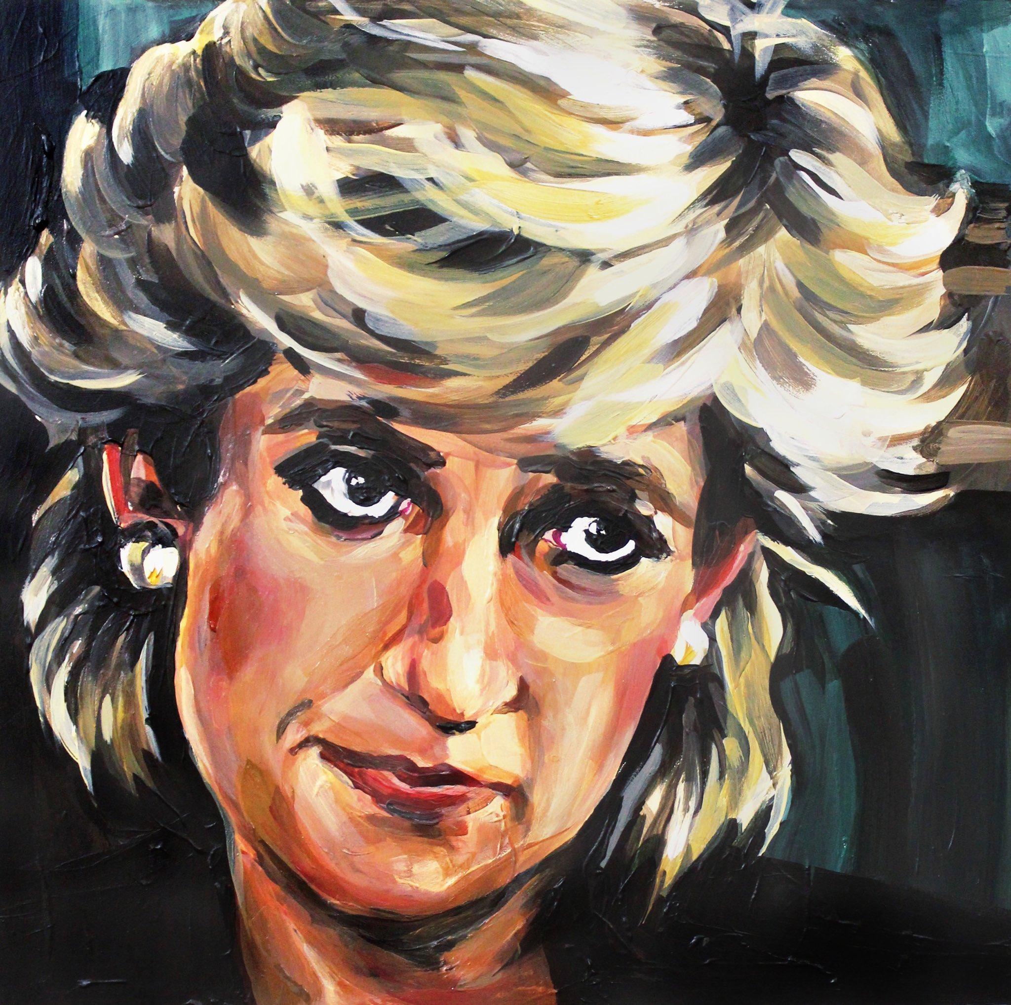 Happy Birthday Princess Diana art by