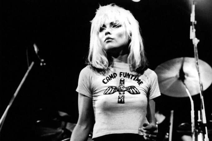 A very happy birthday to the beautifully iconic Debbie Harry!!!