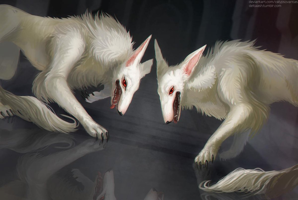 lovely dogs uwu  #TheArcanaGame #MercedesandMelchior pic.twitter.com/TEJjGd88cP